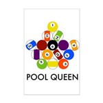 Pool Queen Mini Poster Print