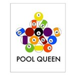 Pool Queen Small Poster