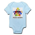 Pool Queen Infant Creeper