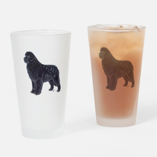 Newfoundland Black Pint Glass