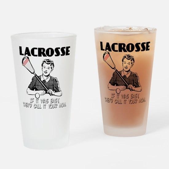 Lacrosse YourMom Drinking Glass