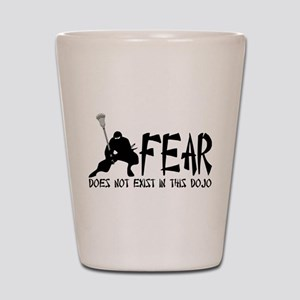 Lacrosse Fear Dojo Shot Glass