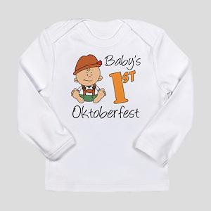 Baby's First Oktoberfest Long Sleeve Infant T-Shir