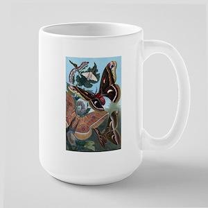 Moths Large Mug
