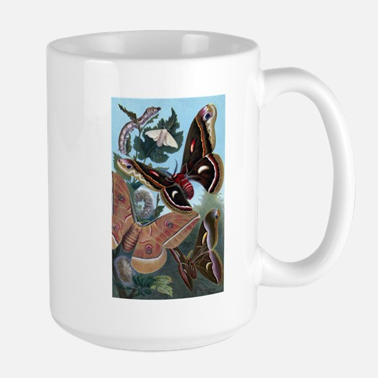 Moths Large Mug
