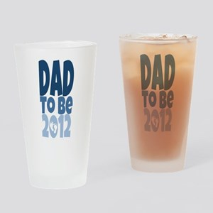 Dad to Be 2012 Pint Glass