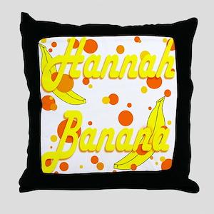 Hannah Banana Throw Pillow