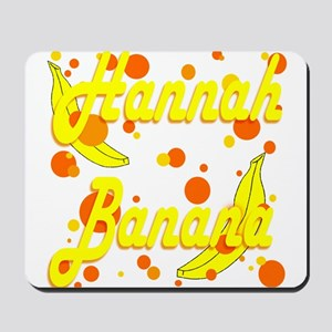 Hannah Banana Mousepad