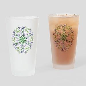 Hummingbird Spin - Drinking Glass
