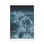 Star Leopard Mini Poster Print