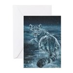 Star Leopard Greeting Cards (Pk of 10)