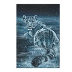 Star Leopard Postcards (Package of 8)