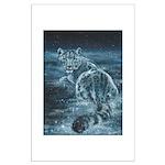 Star Leopard Large Poster