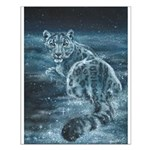 Star Leopard Small Poster