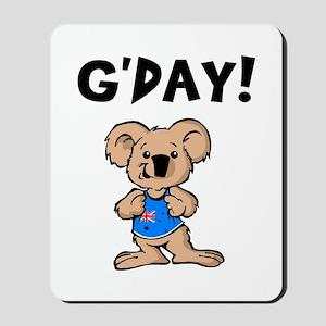 Australian Koala G'Day Mousepad