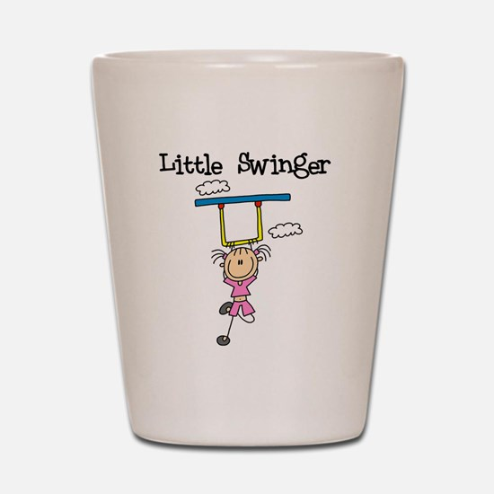 Little Swinger (girl) Shot Glass