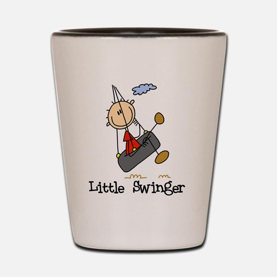 Little Swinger (boy) Shot Glass