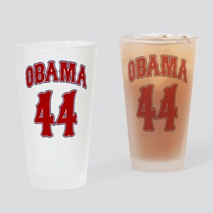 Barack Obama 44th President Pint Glass