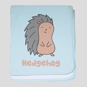 Hedgehog baby blanket