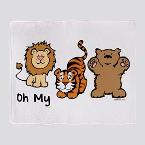 Oh My Throw Blanket