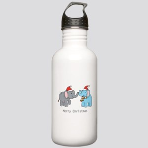 Elephant Christmas Stainless Water Bottle 1.0L