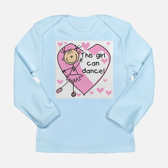 This Girl Can Dance Long Sleeve Infant T-Shirt