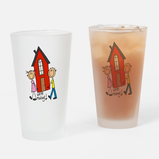 House We're Moving Pint Glass