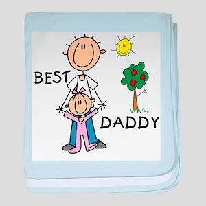 Best Daddy baby blanket