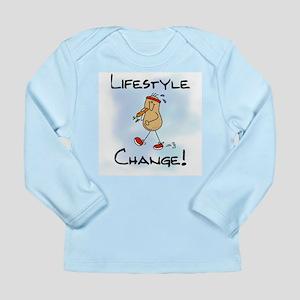 Peanut Lifestyle Change Long Sleeve Infant T-Shirt
