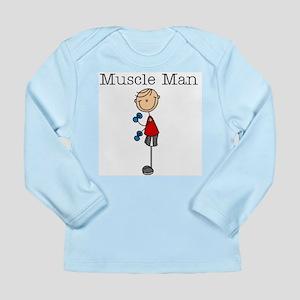 Muscle Man Long Sleeve Infant T-Shirt