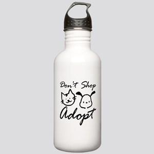 Don't Shop, Adopt Stainless Water Bottle 1.0L