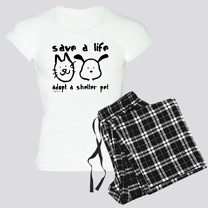 Save a Life - Adopt a Shelter Women's Light Pajama