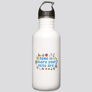 Home Is Stainless Water Bottle 1.0L