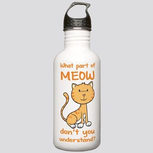 Part of Meow Stainless Water Bottle 1.0L