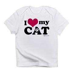 I Love My Cat Infant T-Shirt