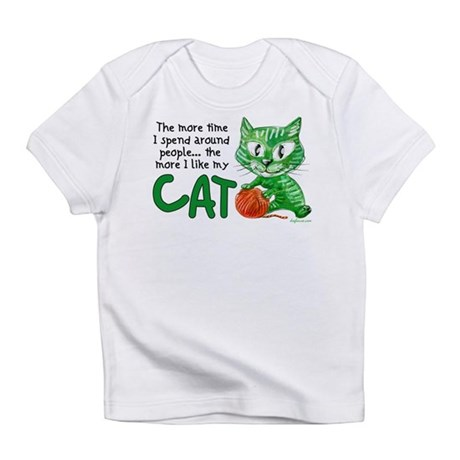 More Time (Cat) Infant T-Shirt