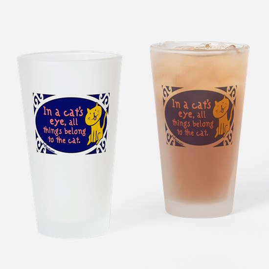 Cat's Eye Pint Glass