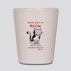 Meow Shot Glass