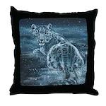 Star Leopard Throw Pillow