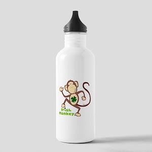 Shamrock Irish Monkey Stainless Water Bottle 1.0L