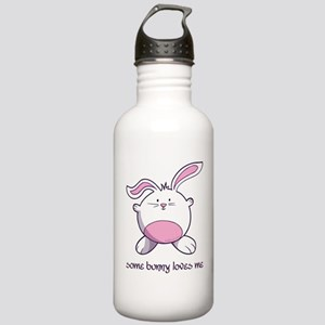 Some Bunny Loves Me Stainless Water Bottle 1.0L