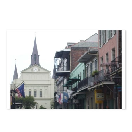 New Orleans French Quarter Postcards (Package of 8