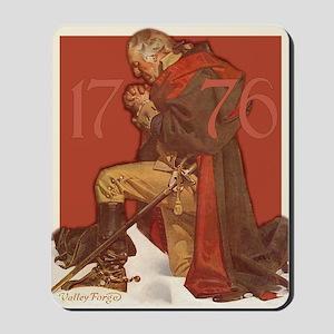 George Washington in Prayer Mousepad