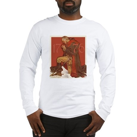 George Washington in Prayer Long Sleeve T-Shirt