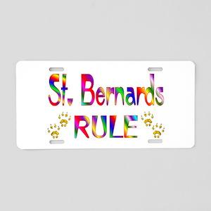 St. Bernard Aluminum License Plate