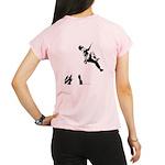 Bouldering (Back) Women's Sports T-Shirt