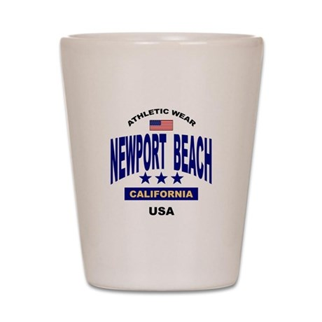 Shot glasses for Newport Beach, California