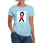 Black Hope Women's Pink T-Shirt