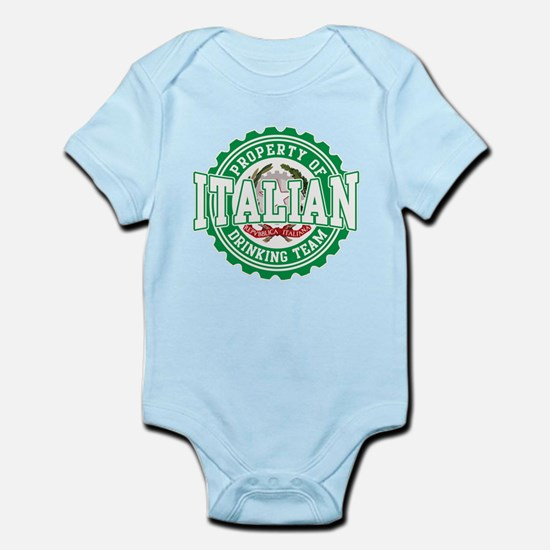 Property of Italian Drinking Infant Bodysuit