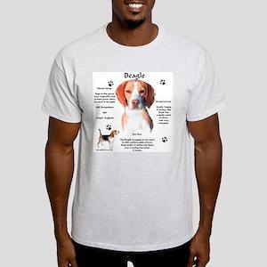 Beagle 1 Ash Grey T-Shirt